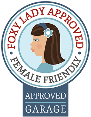 FOXY approved Female Friendly garage